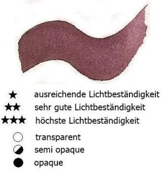 49 Caput Mortuum Renesans Aquarellfarbe Godet 1/2 Napf