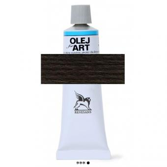 49 Elfenbeinschwarz Renesans Oils for Art 60ml Metalltube