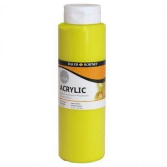 Daler Rowney SIMPLY Acrylfarbe Zitronengelb 750ml