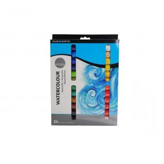 Simply Aquarell Anfängerset 24 x 12 ml Metalltuben