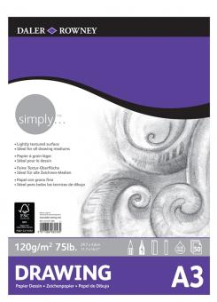 Daler Rowney Simply Zeichenblock A3