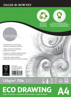Daler Rowney Simply ECO Zeichenblock A4