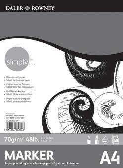 Daler-Rowney Simply Markerblock A4