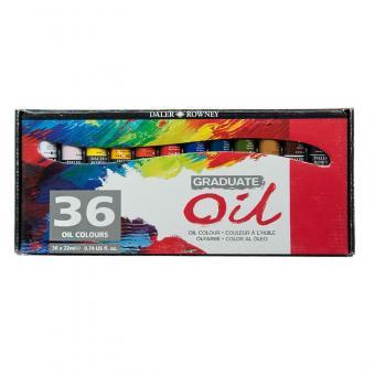 Daler Rowney Graduate 36x22ml Ölfarben Set