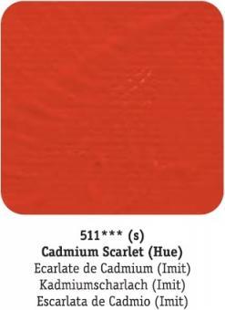 D-R system3 511 Kadmiumscharlachrot / Cadmium Scarlet (hue)