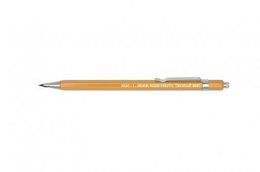 Metall Druckbleistift ∅2mm mit Clip gelb Versatil 5201