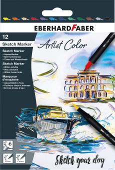 Sketch Marker Artist Color 12er Set