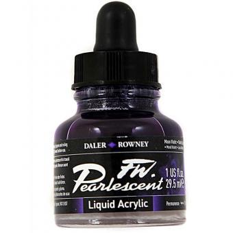 Daler Rowney Pearlescent Acryl Tinte Moon Violet 29,5ml