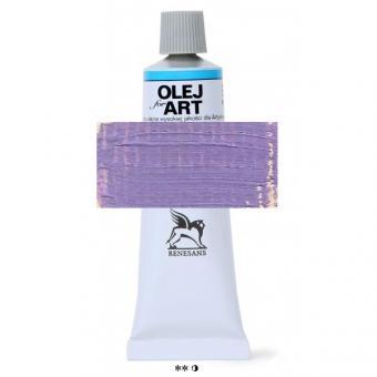65 Violett hell Renesans Oils for Art 60ml Metalltube