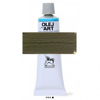 74 Grüne Erde gebrannt Renesans Oils for Art 60ml Metalltube
