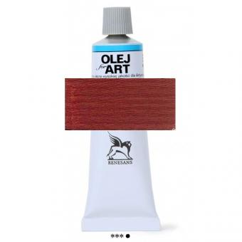 76 Englisch Rot Renesans Oils for Art 60ml Metalltube