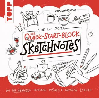 Der Quick Start Block - Sktechnotes - Nadine Roßa