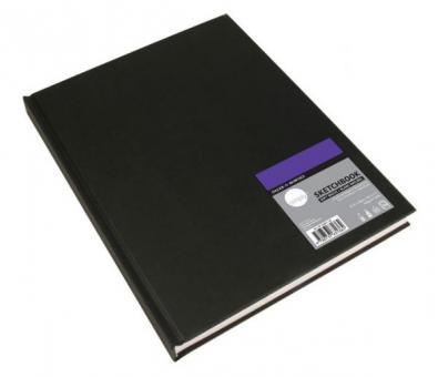Skizzenbuch 21,8x28 cm naturweiß