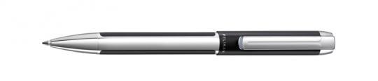 Pelikan Pura Kugelschreiber schwarz-silber  inkl. Gravur