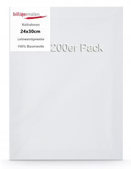 Keilrahmen 24 x 30 200er Pack