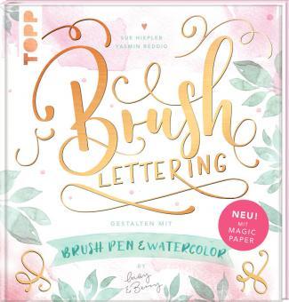 Brushlettering Watercolor - Sue Hiepler, Yasmin Reddig