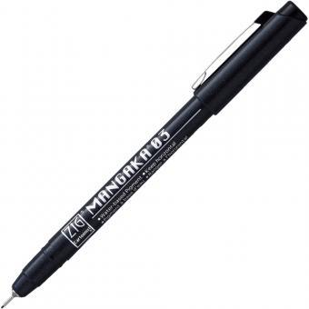 Kuretake ZIG Mangaka Fineliner Black 03