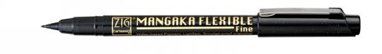Kuretake ZIG Mangaka Flexible Fine Black