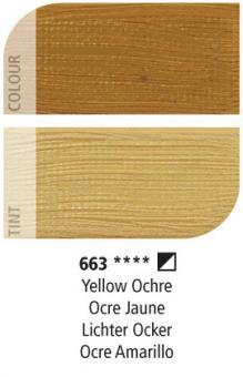 Daler-Rowney 663 Lichter Ocker Graduate Ölfarbe