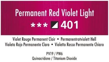 Daler Rowney Georgian 401 Permanetrotviolett Hell /Permanet Red Violet Light 37 ml Wassermischbare Ölfarbe