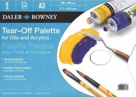 Daler Rowney Papier-Abreißpalette A3