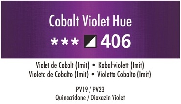 Daler Rowney Georgian 406  Kobalt Violett / Permanet Cobalt Violet Hue 37 ml Wassermischbare Ölfarbe