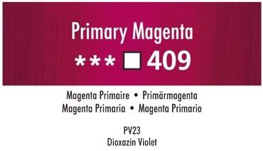 Daler Rowney Georgian 409 Primärmagenta /  Primary Magenta 37 ml Wassermischbare Ölfarbe
