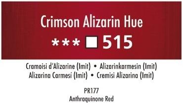 Daler Rowney Georgian 515 Alizarinkarmesin /   Crimson Alizarin Hue 37 ml Wassermischbare Ölfarbe