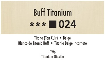Daler Rowney Georgian 024 Beige / Buff Titan 37 ml Wassermischbare Ölfarbe