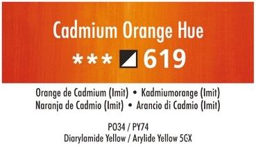 Daler Rowney Georgian 619 Cadmiumorange / Cadmium Orange Hue 37 ml Wassermischbare Ölfarbe