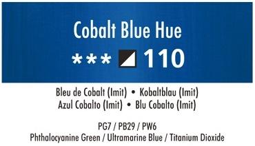 Daler Rowney Georgian 110 Kobaltblau / Crimson Cobalt Blue Hue 37 ml Wassermischbare Ölfarbe