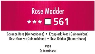 Daler Rowney Georgian 561 Krapplack Rosa / Rose Madder 37 ml Wassermischbare Ölfarbe