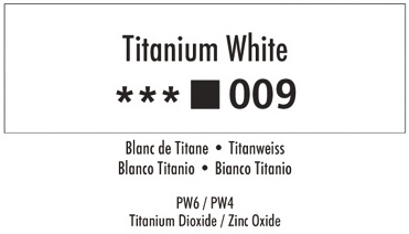 Daler Rowney Georgian 009 Titanweiß / Titanium White 37 ml Wassermischbare Ölfarbe
