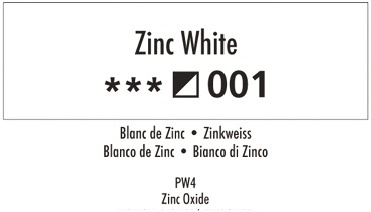 Daler Rowney Georgian 001 Zinkweiß / Zinc White 37ml Wassermischbare Ölfarbe