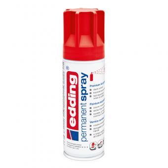 Edding Spray 5200 verkehrsrot RAL 3020 seidenmatt