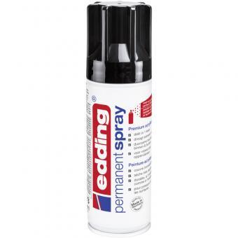 Edding Spray 5200 tiefschwarz RAL 9005 glänzend