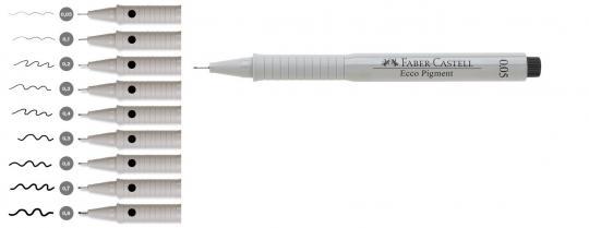 FABER CASTELL Tintenschreiber Ecco Pigment