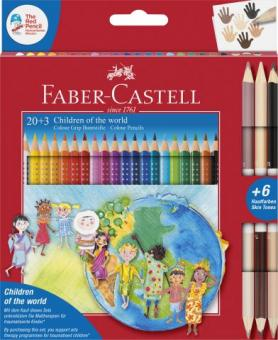 Children of the world 20+3 Colour Grip