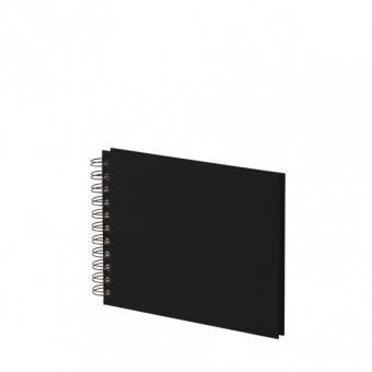 SOHO Fotoalbum mit Spirale schwarz