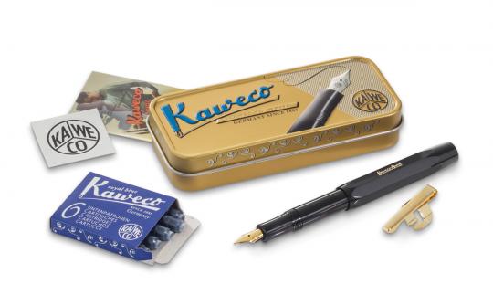 Kaweco CLASSIC Sport Schwarz M Geschenkset