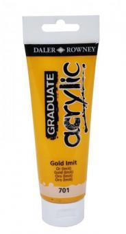 Daler-Rowney Gold 701 Graduate acrylic 120ml
