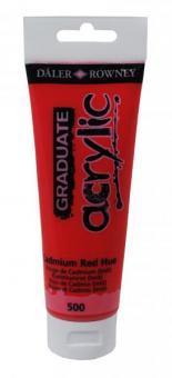 Daler-Rowney Kadmiumrot 500 Graduate acrylic 120ml