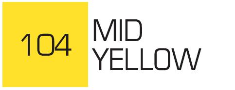 Kurecolor Twin S- Mid Yellow 104
