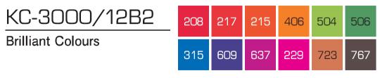 Kurecolor Twin S- Brilliant Colours 12er Set