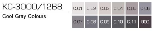 Kurecolor Twin S- Cool Gray Colours 12er Set