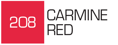Kurecolor Twin S- Carmine Red 208