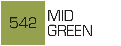 Kurecolor Twin S- Mid Green 542