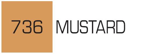 Kurecolor Twin S- Mustard 736