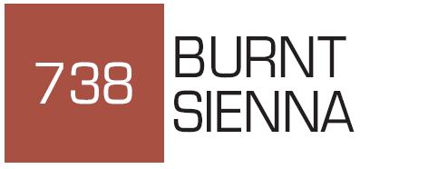 Kurecolor Twin S- Burnt Sienna 738