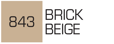 Kurecolor Twin S- Brick Beige 843
